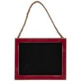 Red Chalkboard Ornament