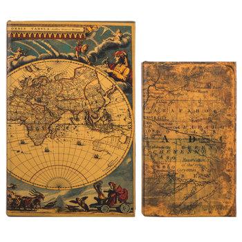 World Map Book Box Set