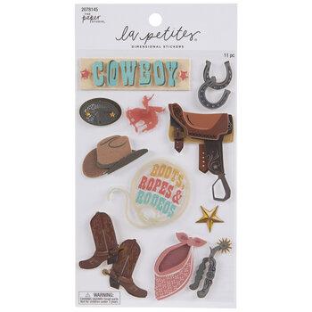 Cowboy 3D Stickers