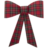 Traditional Plaid Bow