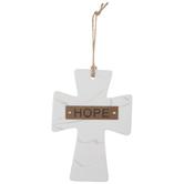 Hope Marble Wall Cross