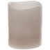Gray Distressed LED Votive Candle
