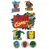Marvel Essentials 3D Stickers