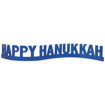 Glitter Happy Hanukkah Decor
