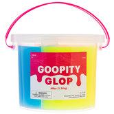 Orange, Yellow & Blue Goopity Glop Slime