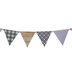 Farmhouse Patterned Pennant Banner