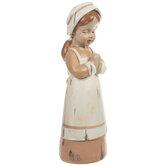 Praying Pilgrim Girl