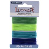 Blue & Greens Elonga Multi-Strand Elastic Cord