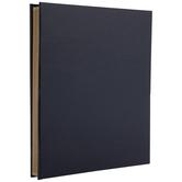"""Navy Vinyl Post Bound Scrapbook Album - 11 3/4"""" x 14"""""""