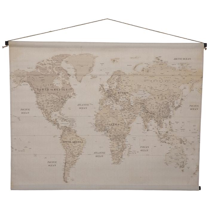 Vintage Map Tapestry Wall Decor Hobby Lobby 1300078