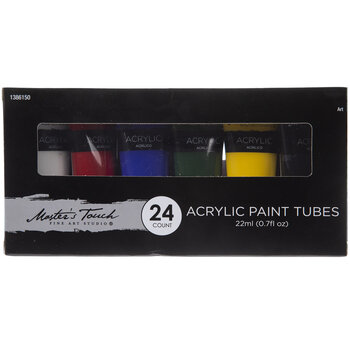 Acrylic Paint - 24 Piece Set