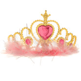 Pink & Gold Princess Tiara