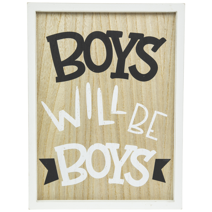 Boys Will Be Boys Wood Wall Decor Hobby Lobby 1799808