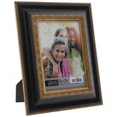 "Black & Gold Beaded Scroll Frame - 5"" x 7"""