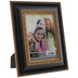 Black & Gold Beaded Scroll Frame - 5
