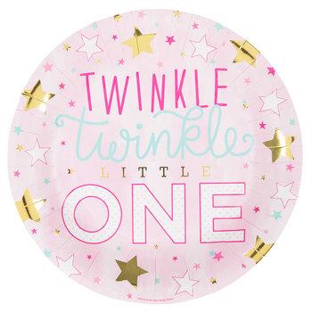 Twinkle Twinkle Little One Paper Plates - Large