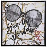 See The World Canvas Wall Decor
