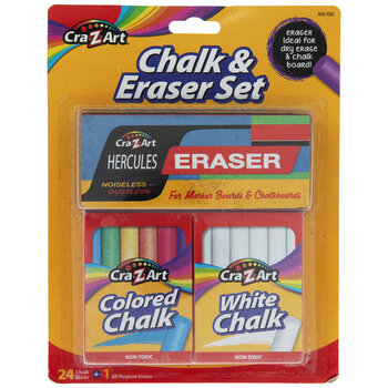 Cra-Z-Art Chalk & Eraser