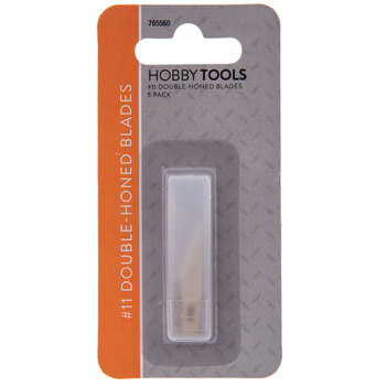 Double Honed Hobby Knife Blades - Size 11