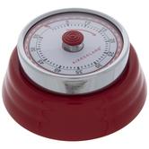 Kikkerland Red Magnetic Kitchen Timer