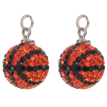 Basketball Rhinestone Charms