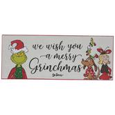 We Wish You A Merry Grinchmas Wood Decor