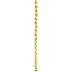 Yellow AB Gemcut Oval Glass Bead Strand