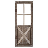 Rustic Door Wood Wall Decor