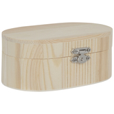 Oval Wood Box