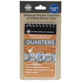 Pocket Checklist Of United States Quarters