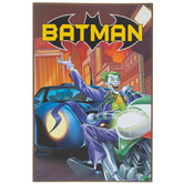 Joker & Batman Wood Wall Decor