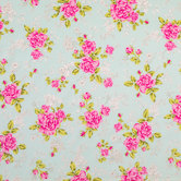 Chic Rose Knit Fabric