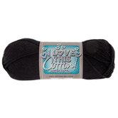 Black I Love This Cotton Yarn