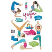 Yoga 3D Stickers