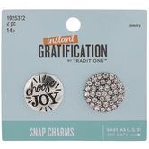Choose Joy Snap Charms