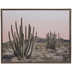 Desert With Cacti Wood Wall Decor