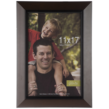 Dark Brown Wood Wall Frame