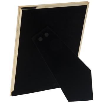 """Gold Hammered Metal Frame - 5"""" x 7"""""""