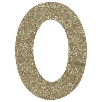 Glitter Wood Number