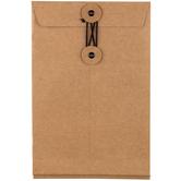 Kraft Eyelet String Envelopes