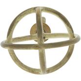 Gold Rings Metal Orb Knob