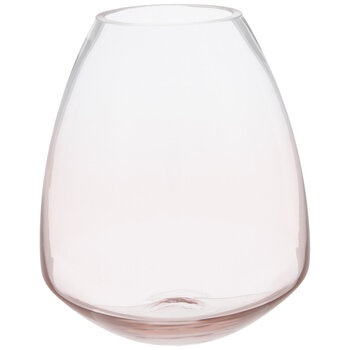 Ombre Tapered Glass Vase