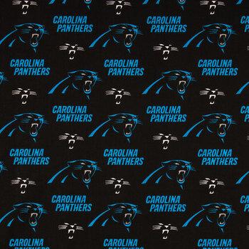 NFL Carolina Panthers Cotton Fabric