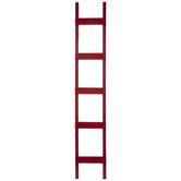 Red Wood Decorative Ladder