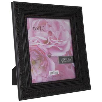 "Chocolate & Red Ornate Wood Frame - 8"" x 10"""