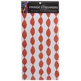 Red Fringe Streamers