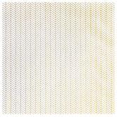 """Gold Foil Herringbone Scrapbook Paper - 12"""" x 12"""""""