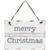Merry Christmas Wreath Embellishment