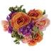 Orange Rose, Hydrangea & Berry Mixed Bush