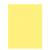 "Yellow Mini Chevron Scrapbook Paper - 8 1/2"" x 11"""